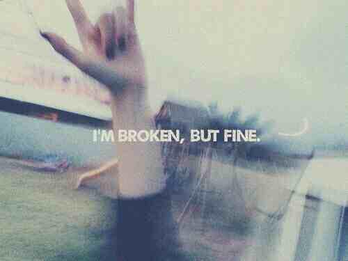 broken, fine, and grunge image