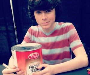 the walking dead, chandler riggs, and twd image