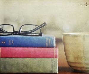 books, coffee, and relax image