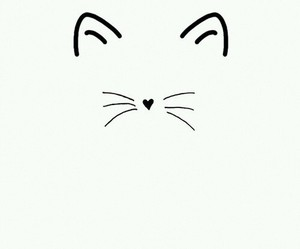 cat, sweet, and love image