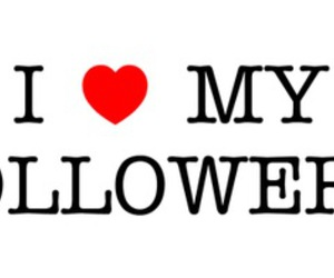 followers and love image