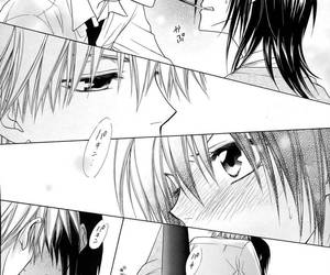 kiss, usui takumi, and kaichou wa maid sama image