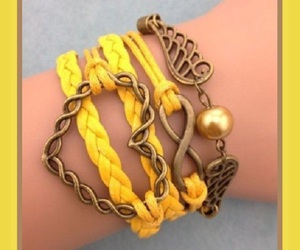 bracelet, charms, and jewelry image