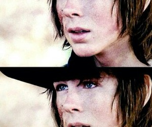 carl, the walking dead, and carl grimes image