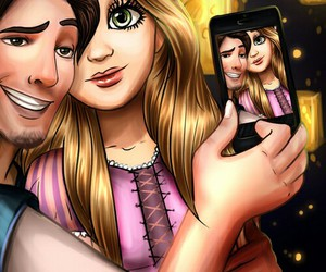 disney, selfie, and princess image