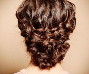 beautiful hair, brown hair, and diy image