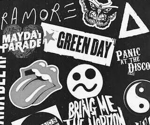 green day, 5sos, and music image