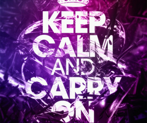 carry, keep calm, and carry on image