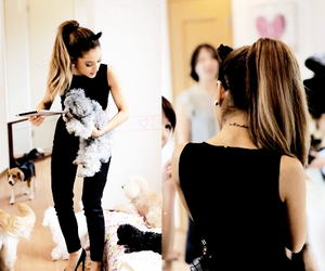 ag, queen grande, and ariana grande image