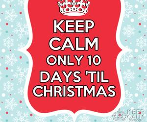 christmas, cute, and keep calm image