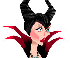 fanart, once upon a time, and maleficent image