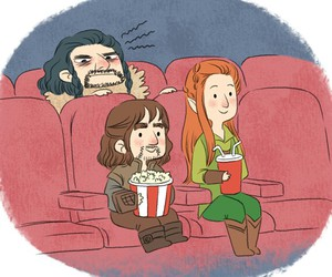 the hobbit, thorin, and tauriel image