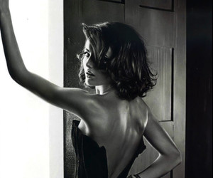 sexy, camilla belle, and black and white image