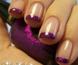 love it, nails, and purple image