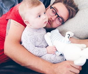 baby, love, and daddy image