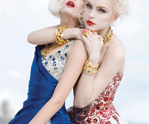 fashion, hair, and models image