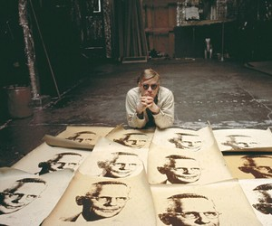 andy warhol, vintage, and art image