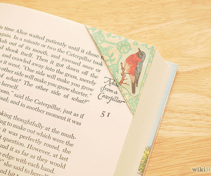 book, bookmark, and books image