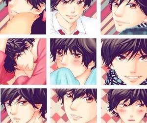 anime, ao haru ride, and shojo image