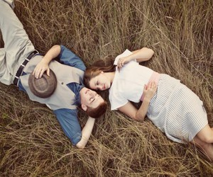 couple, vintage, and love image