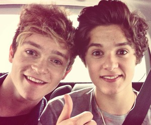 the vamps, connor ball, and bradley simpson image