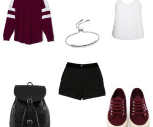 black, clothes, and Polyvore image