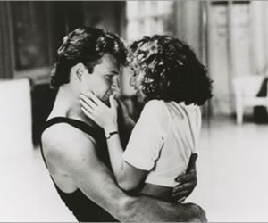 dirty dancing, patrick swayze, and couple image