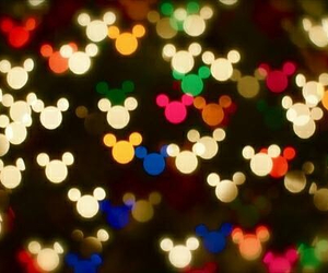 disney, mickey, and light image