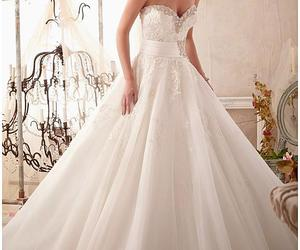 bridal gown, wedding dress, and ball gown wedding dress image