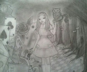 alice, cat, and dimensions image