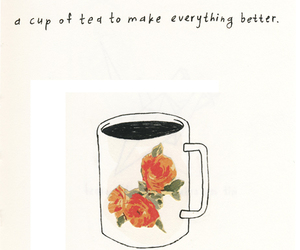 tea, flowers, and better image