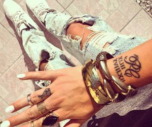 tattoo, fashion, and style image