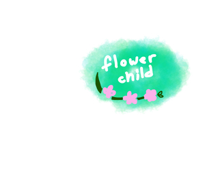 editing, flower child, and flower crown image