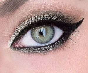 beautiful, makeup, and eye image