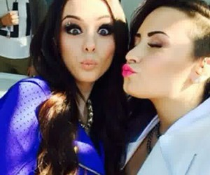 demi lovato, cher lloyd, and demi image