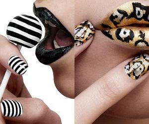 art, Hot, and nails image