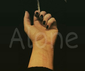alone, awesome, and black image