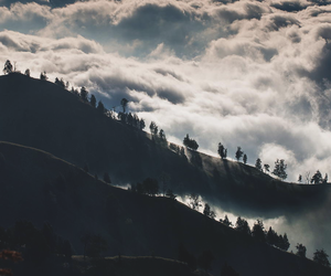 clouds, nature, and travel image