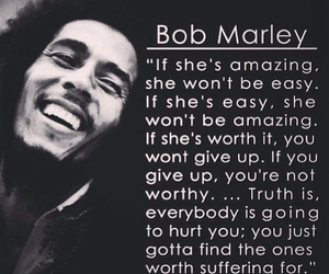 quotes, bob marley, and amazing image