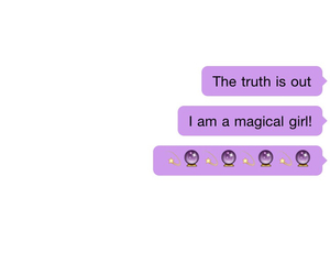 text, magic, and purple image