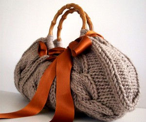 knitted bag image