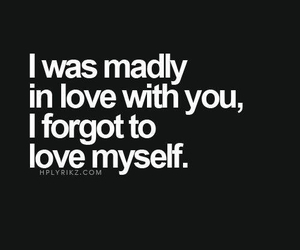 forgot, WITH, and inlove image