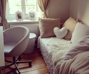 awesome, bedroom, and heart image