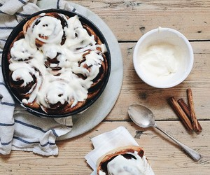 food, delicious, and Cinnamon image