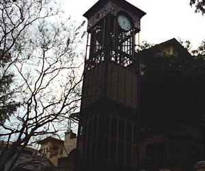 clock, dark, and San Antonio image