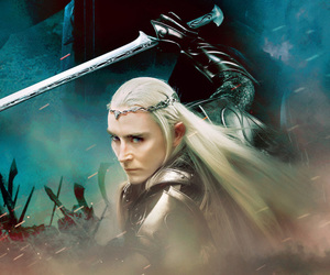awesome, the hobbit 3, and thranduil image