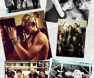 muscles, r5, and ross lynch image
