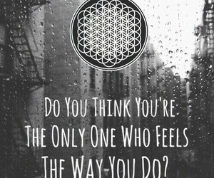 quote, bmth, and bring me the horizon image