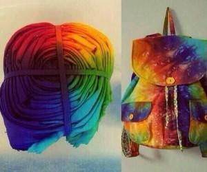 diy, bag, and backpack image