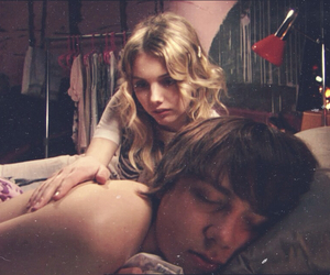 cassie ainsworth, hannah murray, and mike bailey image